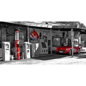 Vadim Ratsenskiy - Vintage gas station on Route 66