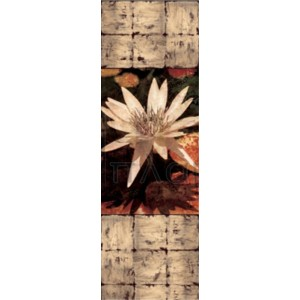 John Seba - Waterlily Panel I