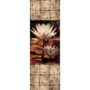 John Seba - Waterlily Panel II