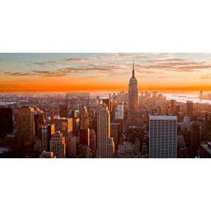 Inigocia - Sunset over New York City