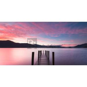 Anonymous - Twilight on lake, UK
