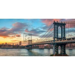 Anonymous - Manhattan Bridge at sunset, NYC