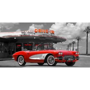 Gasoline Images - Historical diner, USA