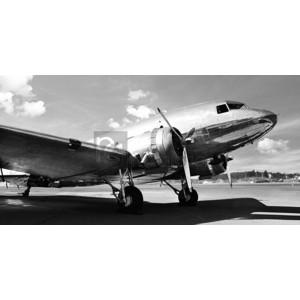 Gasoline Images - Vintage airplane