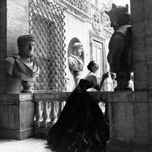 GENEVIEVE NAYLOR - Evening Dress, Roma, 1952