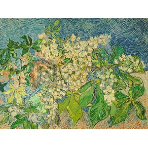 Vincent Van Gogh - Blossoming Chestnut Branch
