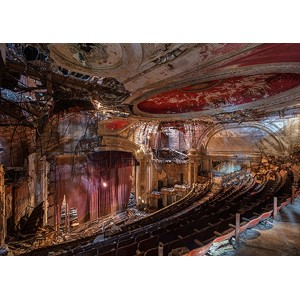Richard Berenholtz - Abandoned Theatre, New Jersey (II)