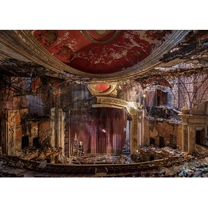 Richard Berenholtz - Abandoned Theatre, New Jersey (I)