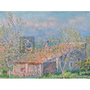 Claude Monet - Gardener's House at Antibes