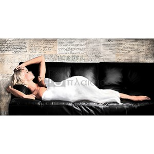VAN HAAL - Reclined Beauty I