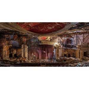 Richard Berenholtz - Abandoned Theatre, New Jersey (detail I)
