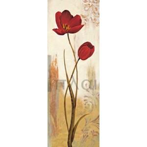 Nathalie Besson - Panneau tulipe