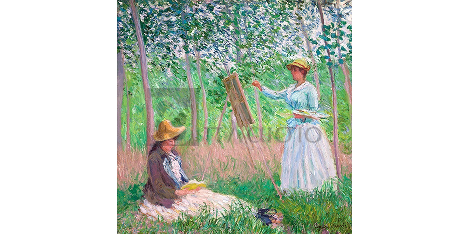Claude Monet - In the Woods at Giverny