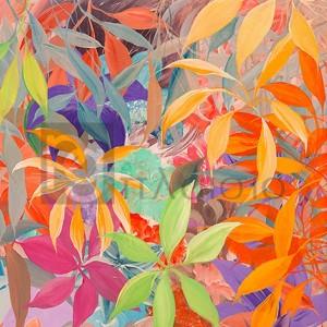 Italo Corrado - Giungla colorata (detail)