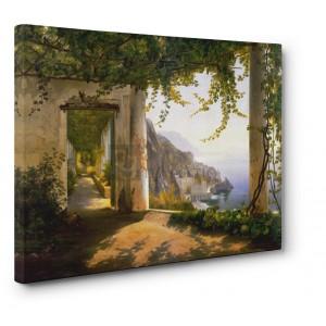 Carl Frederic Aagaard - View to the Amalfi Coast