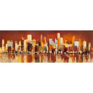 Luigi Florio - Manhattan al tramonto