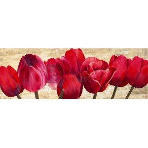 Cynthia Ann - Red Tulips