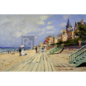 Claude Monet - Plage de Trouville