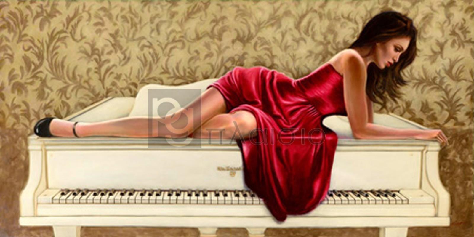 John Silver - Woman in red