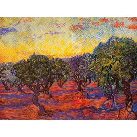Vincent Van Gogh - L' uliveto