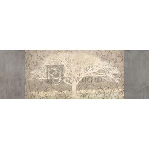 Alessio Aprile - Grey Brocade Panel