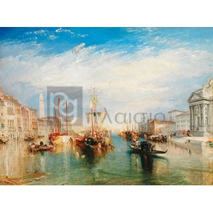 William Turner - Venice, from the Porch of Madonna della Salute