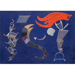 Wassily Kandinsky - La flèche, 1943 (Februar)