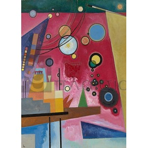 Wassily Kandinsky - Schweres Rot (detail)