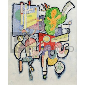 Wassily Kandinsky - Complexité simple