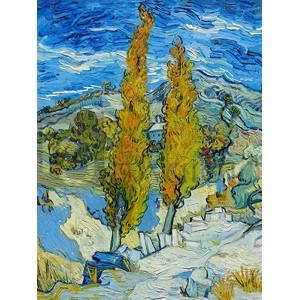 Vincent Van Gogh - The Poplars at Saint-Rémy