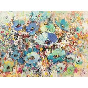 Luigi Florio - Campo di fiori in Primavera