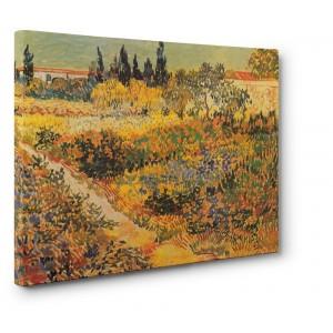 Vincent Van Gogh - Giardino fiorito