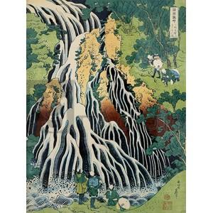 Katsushika Hokusai - Kirifuki-No-Taki Waterfall