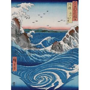Ando Hiroshige - Naruto Whirlpools, Awa Province
