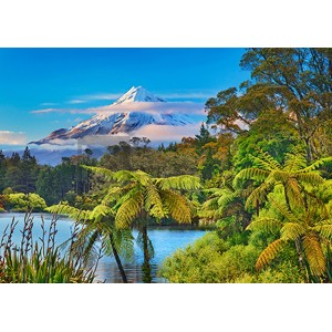 Frank Krahmer - Taranaki Mountain and Lake Mangamahoe, New Zealand