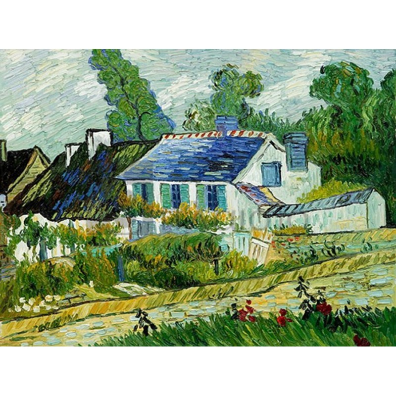 Vincent Van Gogh - House at Auvers