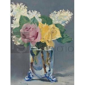 Edouard Manet - Lilas et roses