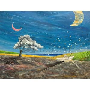 Donato Larotonda - La grande luna sta lì a guardare
