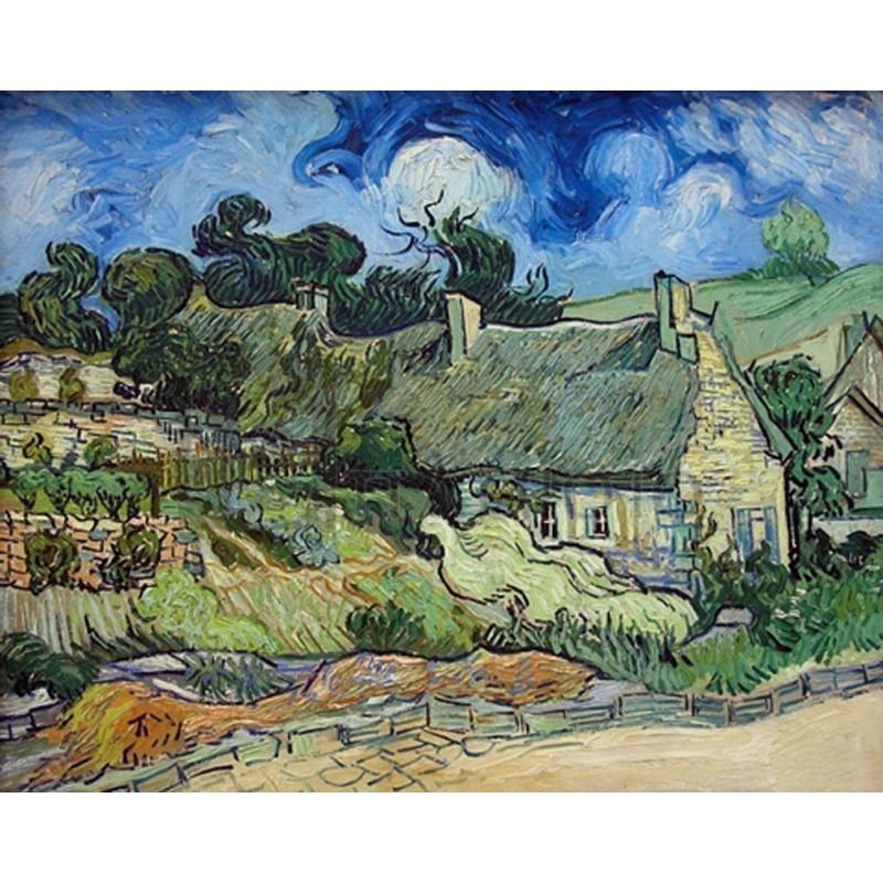 Vincent Van Gogh - Chaumes de cordeville a Auvers