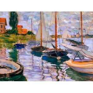 Claude Monet - Voiliers sur la Seine
