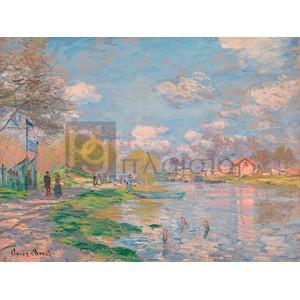 Claude Monet - Spring by the Seine