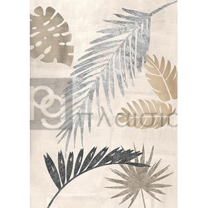 Eve C. Grant - Palm Leaves Silver III