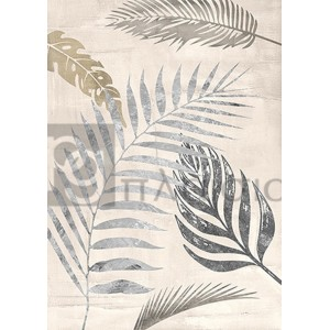 Eve C. Grant - Palm Leaves Silver I