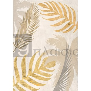 Eve C. Grant - Palm Leaves Gold III