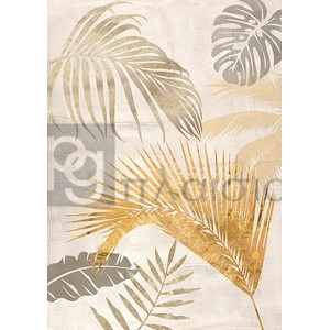 Eve C. Grant - Palm Leaves Gold II