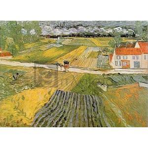 Vincent Van Gogh - Paesagio d' Auvers dopo la pioggia