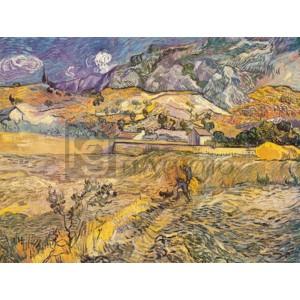 Vincent Van Gogh - Paesaggio a San Remy