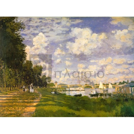 Claude Monet - Il bacino d' Argenteuil