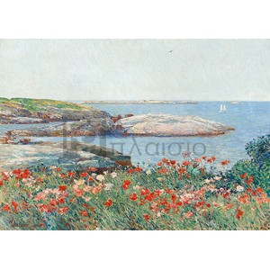 Frederick Childe Hassam - Poppies, Isles of Shoals
