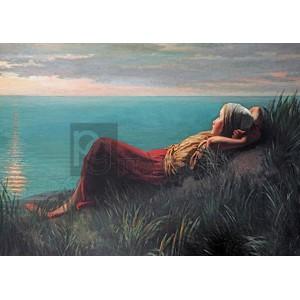Jozef Israels - Dreaming